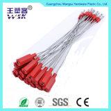 Selo do vermelho da segurança do fio do cabo da porta do recipiente da fábrica de China