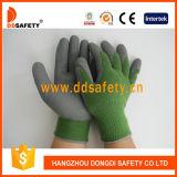 Baumwollacrylzwischenlage-Latexschaum-fertiger Handschuh Dkl412