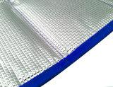 Azul plegable del amortiguador de asiento de los 8 paneles