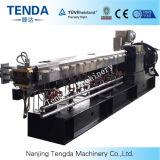 Double extrudeuse améliorée de plastique de vis de la capacité Tsj-65
