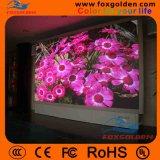 Afficheur LED de location d'intérieur de publicité télévisée de couleur de l'Afficheur LED P6