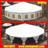 Шатер шатёр случая Dodecagon роскошного шатра купола восьмиугольника венчания круглый