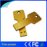 Movimentação feita sob encomenda relativa à promoção quente do flash do USB da chave do metal do logotipo 4GB