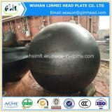 炭素鋼半球のボイラーのためのヘッドによって皿に盛られるエンドキャップ