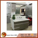 Nuovo disegno di alta qualità bianco/nero/rosso/colore giallo/parte superiore dorata di vanità della stanza da bagno