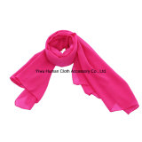 Wrapables Solid Color 100% Polyester Long Scarf