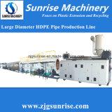 Chaîne de production de pipe de PE de lever de soleil ligne machine d'extrusion de pipe de PE de pipe de PE