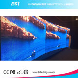 140 Degree View Angle를 가진 최신 Sell P4mm SMD2121 Full Color Curved LED Display Screen