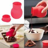 Traitement au four de lait de sauce à beurre de moulage de creuset de chocolat de silicones