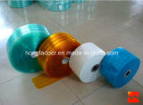 Transparente PVC-Trennvorhang-Streifen/Polyester-Tür-Trennvorhang (HF-K59)