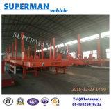 Utilidad de Transporte de madera Semi Remolque en Madera / Madera / cargo