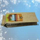 O FDA provou o malote plástico impresso do café do saco de café do saco do empacotamento de alimento do saco de vácuo