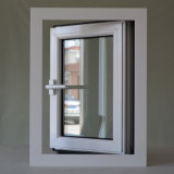 Ventana de aluminio del marco del perfil de la rotura termal blanca del color de la alta calidad con el bloqueo multi Kz109