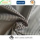 Il piccolo assegno classico modella il fornitore della Cina del rivestimento della fodera del cappotto del rivestimento del vestito