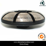 Roue concrète de meule de diamant d'obligation en métal de 4 pouces