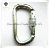 위조된 합금 강철 아연 Carabiner (DS22-1)