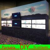 Фон выставки торговой выставки нестандартной конструкции портативный модульный DIY графический