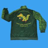 Изготовленный на заказ верхняя часть Tracksuit сублимации|Сублимированная куртка