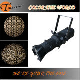 온난한 White 3200k LED Profile Spot Ellipsoidal Theater Gobo Projector Light