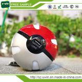 Pokemonはバンク携帯電話10000mAh Pokeballのポータブルの充電器のための力行く