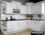 Alto armadio da cucina lucido della lacca -1