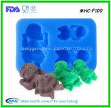 Moulages faits sur commande de silicones de catégorie comestible