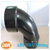 1.5 type ajustage de précision de courbure de la taille 1/4 de pouce de Dwv d'ABS