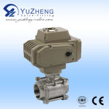 3way Stainless Steel Electric Actuator Ball Valve