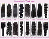 Bens baratos do cabelo brasileiro de trama da camada de China Doubl Curly