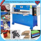 Machine de découpage de presse hydraulique de fléau de Hg-B30t quatre