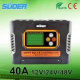Regolatore solare della carica del regolatore 12V 24V 48V di energia solare di Suoer 40A MPPT (SON-MPPT-40A)