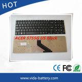Clavier d'ordinateur neuf nous disposition pour le clavier d'ordinateur portatif de l'Acer 5755g 5755
