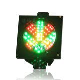 indicatore luminoso di segnale di lavaggio dell'automobile della croce rossa della freccia di verde di traffico di 200mm LED