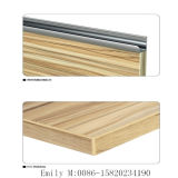 High su ordine Glossy Wooden Kitchen Cabinet Door (fabbrica di ZHUV)
