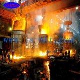 Pequeña venta de frecuencia media usada del horno de inducción de la fábrica