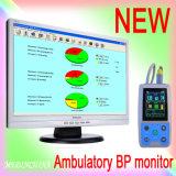 24 Stunden-Aufnahmezeit-ambulatorischer Blutdruck-Monitor Abpm Abp Monitor mit Cer ISO-Markierung Candice