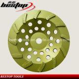Меля диаманта колеса чашки конкретный & полируя истирательный инструмент