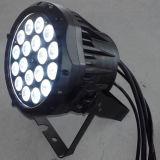 IP65 indicatore luminoso esterno di PARITÀ dell'alluminio 18X10W RGBW LED