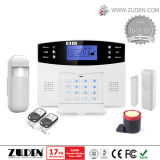 Het geuite LCD Alarm van het Huis van de Veiligheid met 100 Draadloze Streken en 8 Streken van de Draad