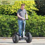 """Chariot elétrico do """"trotinette"""" da maçaroqueira do vento da bicicleta"""