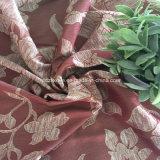 Tessuto rosso regale attraente della tenda del fiore dello Stria