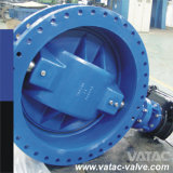 Flg RF/Rtj Triple Eccentric Butterfly Valve mit Pneumatic Operator