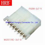 Material de nylon, UL, RoHS Aprobado Conector eléctrico