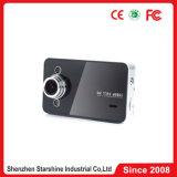 Câmera manual HD DVR K6000 do carro do usuário cheio de HD