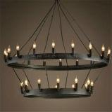 Iluminación interior decorativa de la lámpara pendiente de la manera del metal de Phine