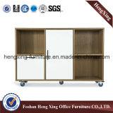 Cabinet de stockage en bois de dossier de 4 portes de cerise (HX-FG016)