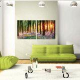 Pittura a olio su ordinazione di paesaggio stampata Digitahi