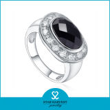 女性(SH-R0526)のための大きい石が付いている流行の銀製のリング