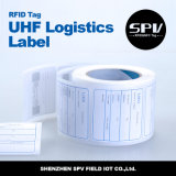 RFID UHF Long Range Logistics Sticker Tag in Roll met Alien H3 9662