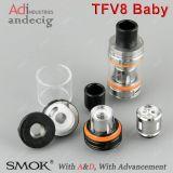 최대 대중적인 분무기 Smok Tfv8/Smok Tfv8 아기 탱크, 본래 3ml Tfv8 아기